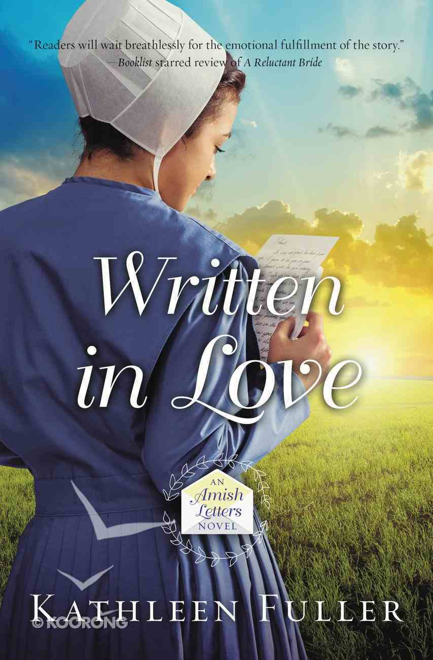 Written in Love (#01 in An Amish Letters Novel Series) eBook