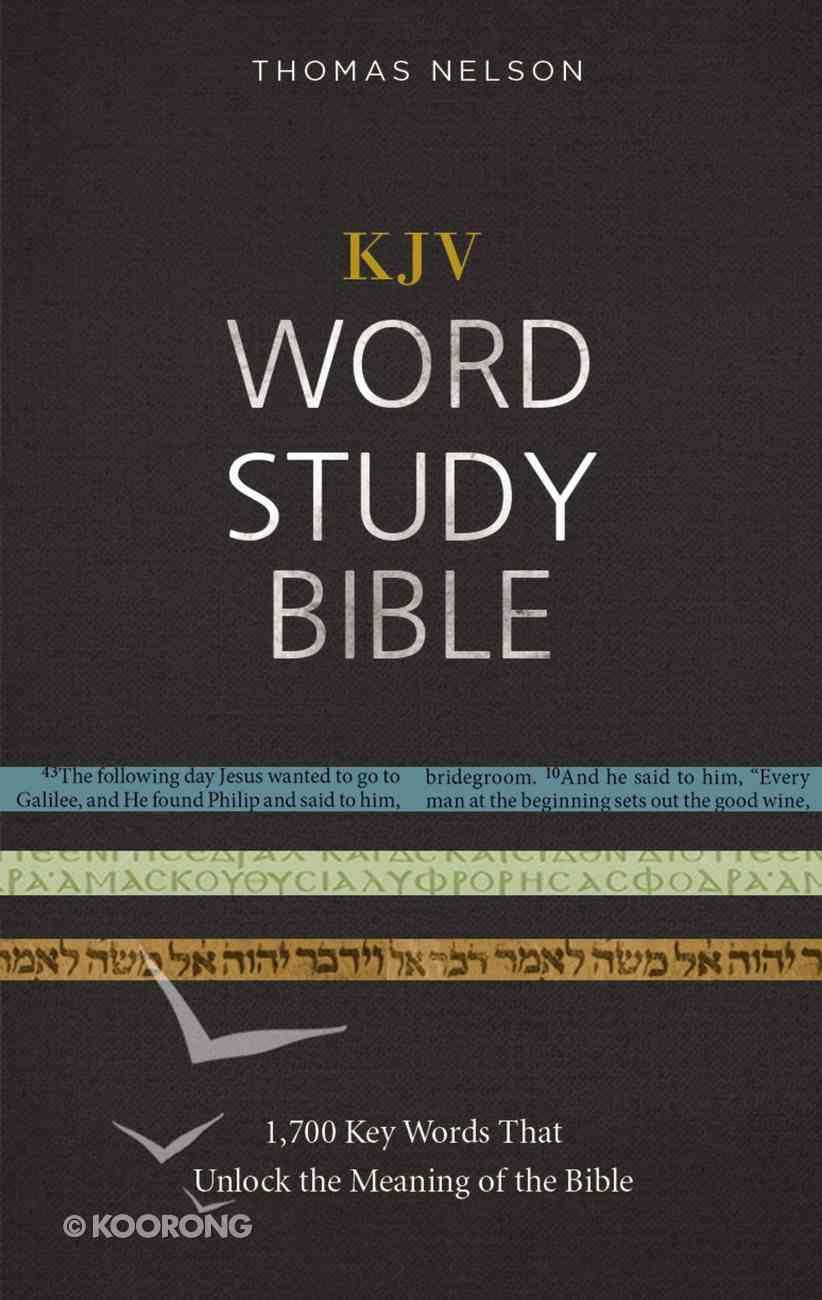 KJV, Word Study Bible, Ebook, Red Letter Edition eBook