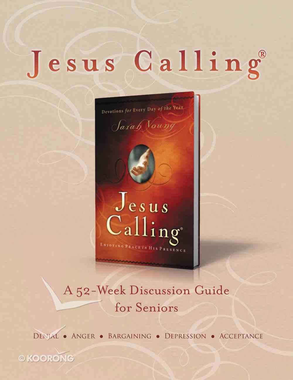 Jesus Calling Book Club Discussion Guide For Seniors eBook