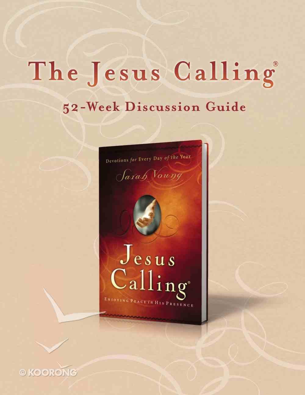 Jesus Calling (52-week Discussion Guide) eBook
