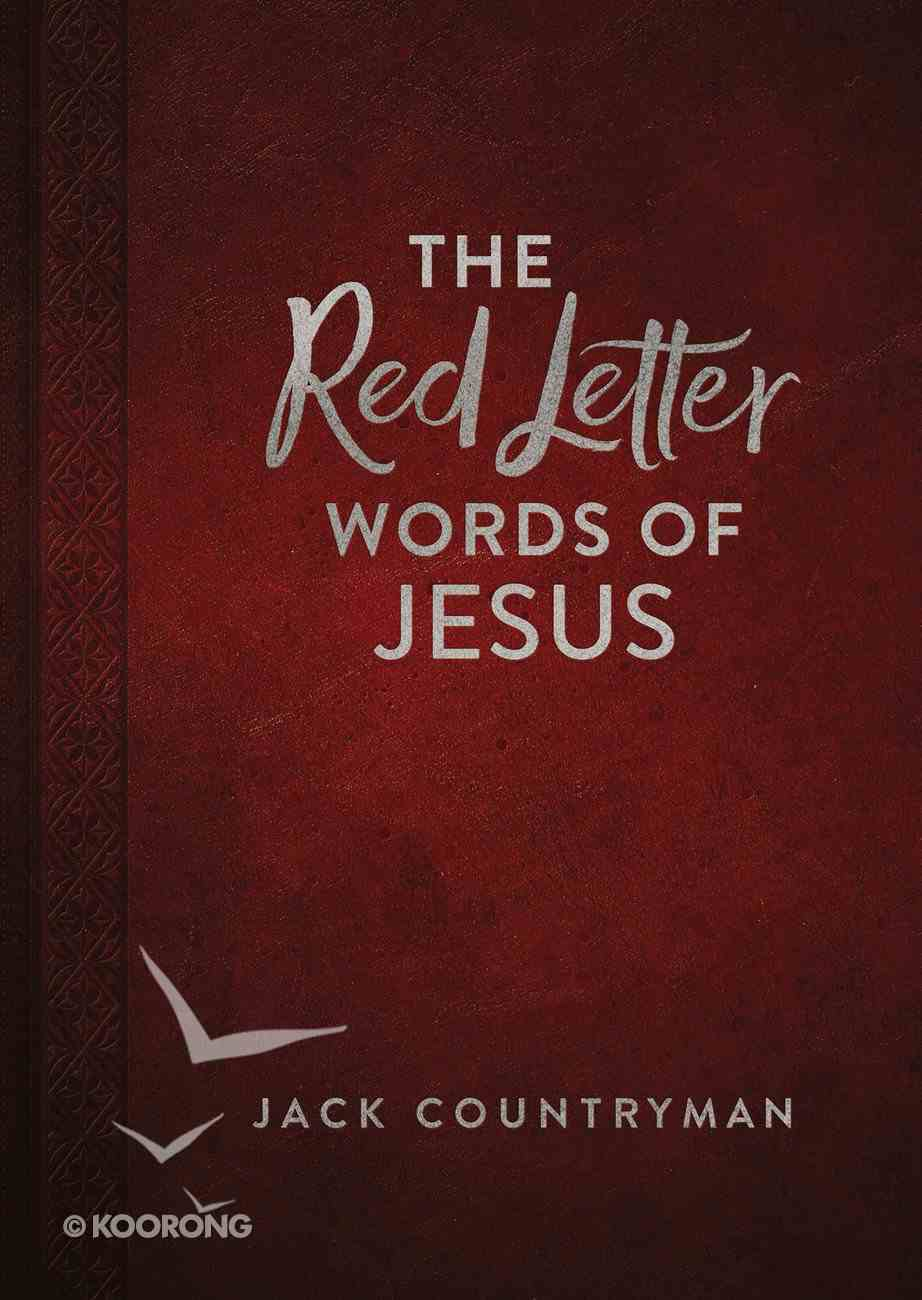 The Red Letter Words of Jesus eBook