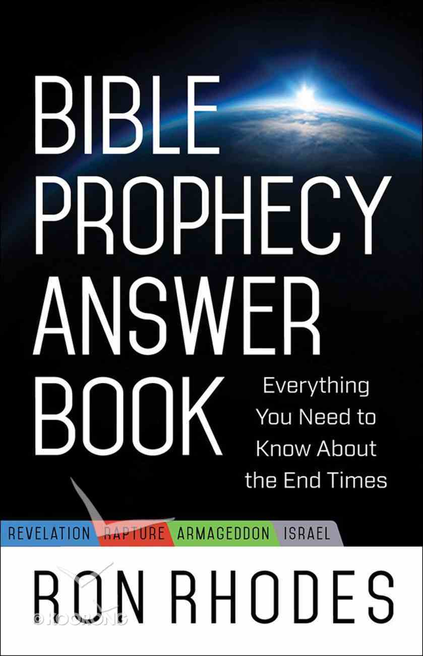 Bible Prophecy Answer Book eBook