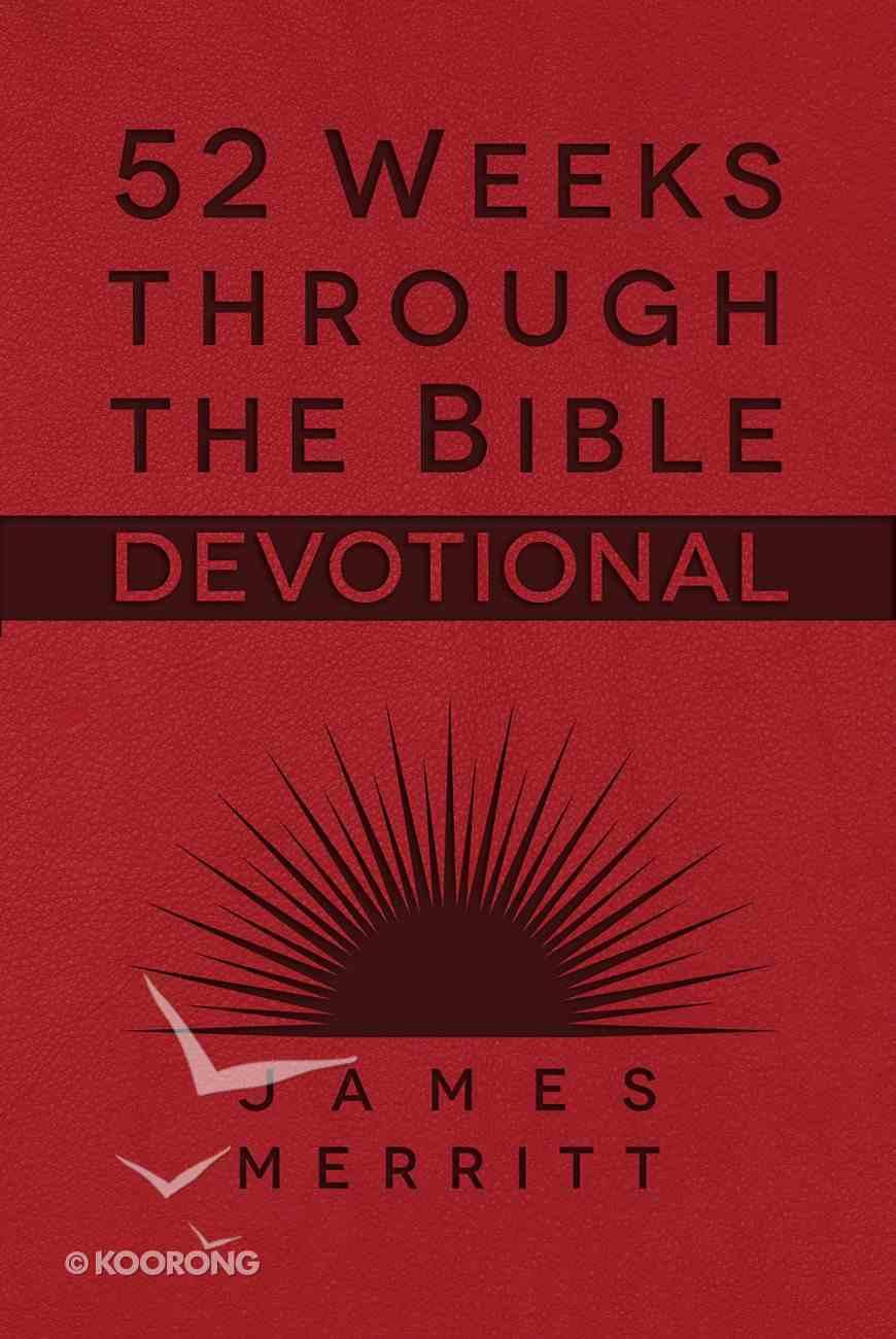 52 Weeks Through the Bible Devotional eBook