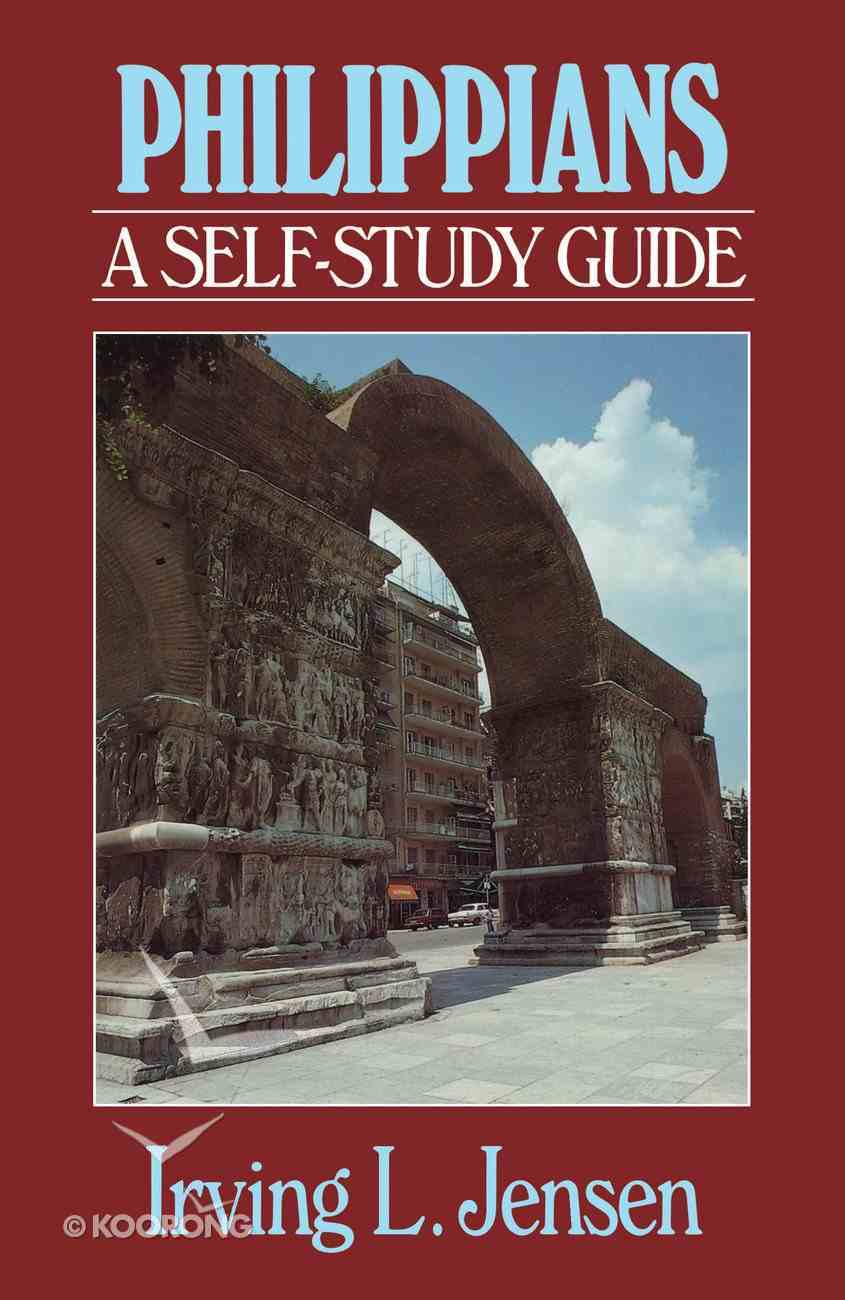 Philippians- Jensen Bible Self Study Guide (Self-study Guide Series) eBook