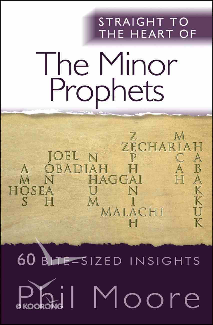Minor Prophets, the - 60 Bite-Sized Insights (Straight To The Heart Of Series) eBook