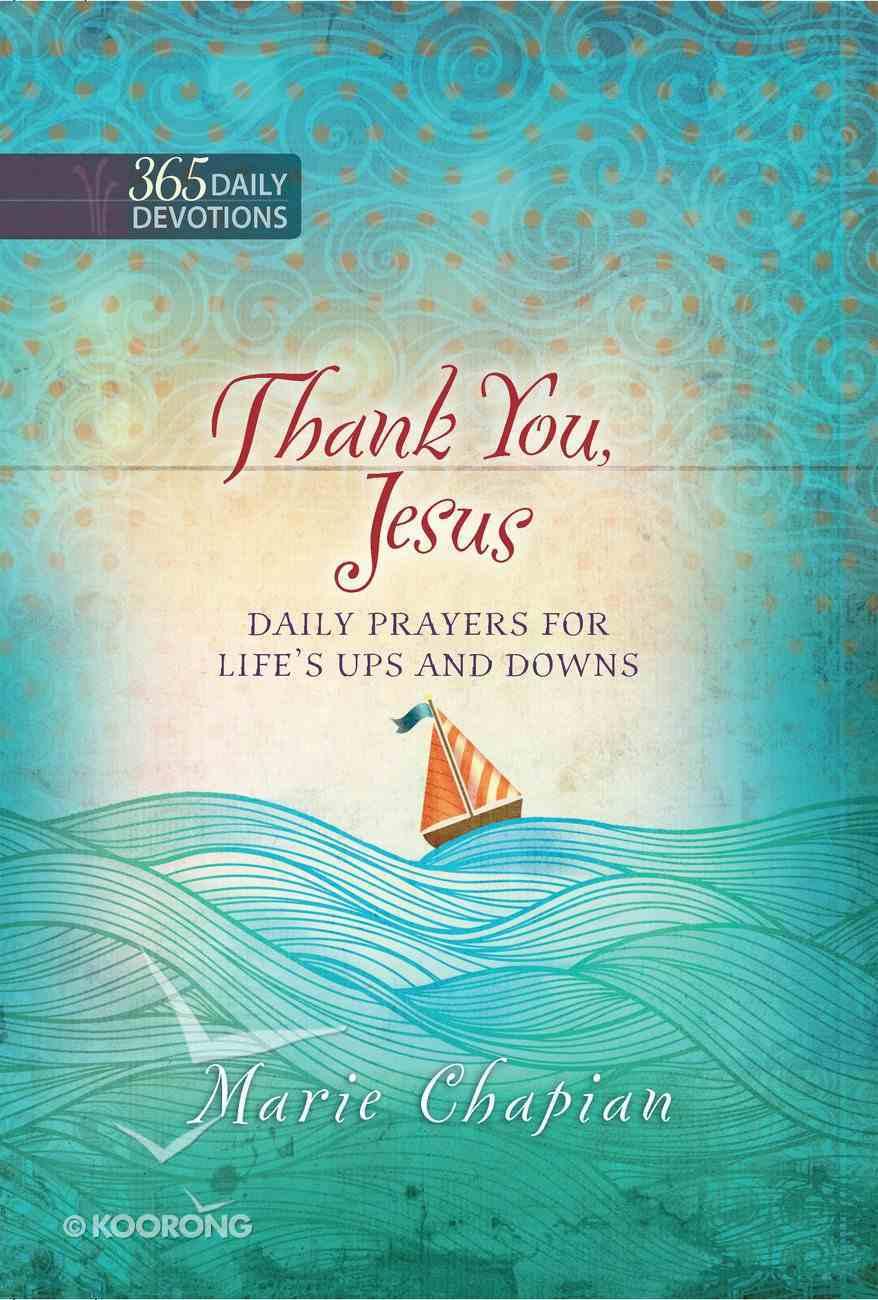 Thank You, Jesus eBook