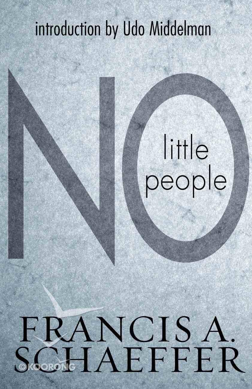 No Little People eBook