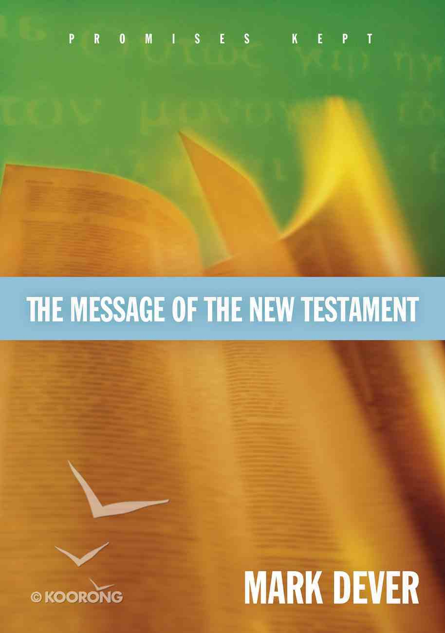 The Message of the New Testament eBook