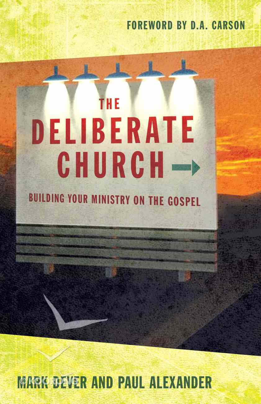 The Deliberate Church eBook