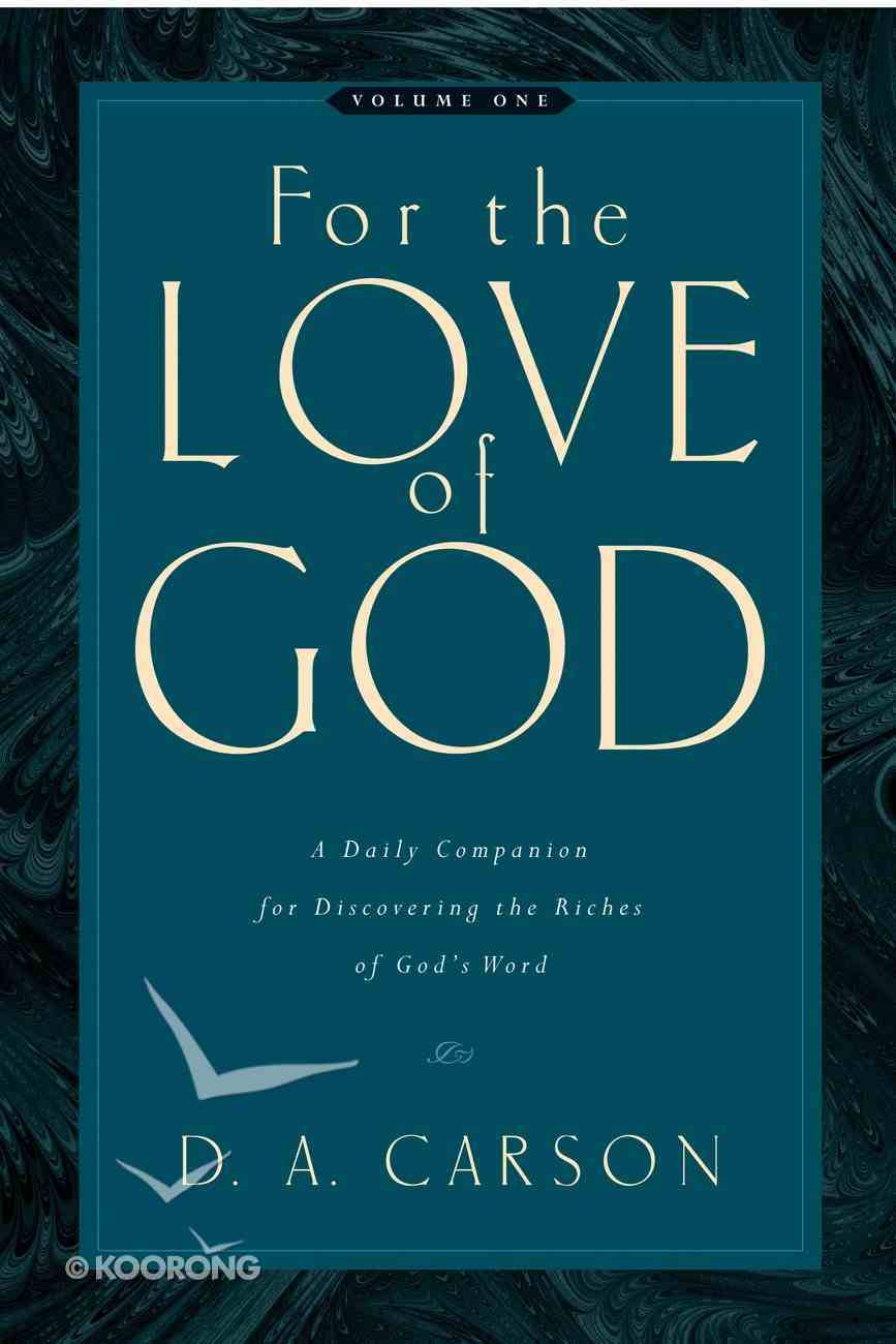For the Love of God (Vol 1) eBook