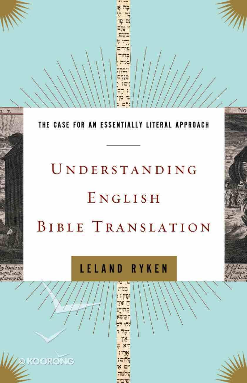 Understanding English Bible Translation eBook