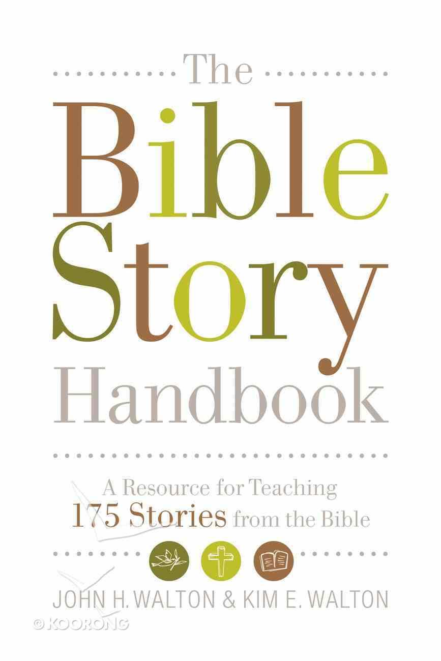 The Bible Story Handbook eBook