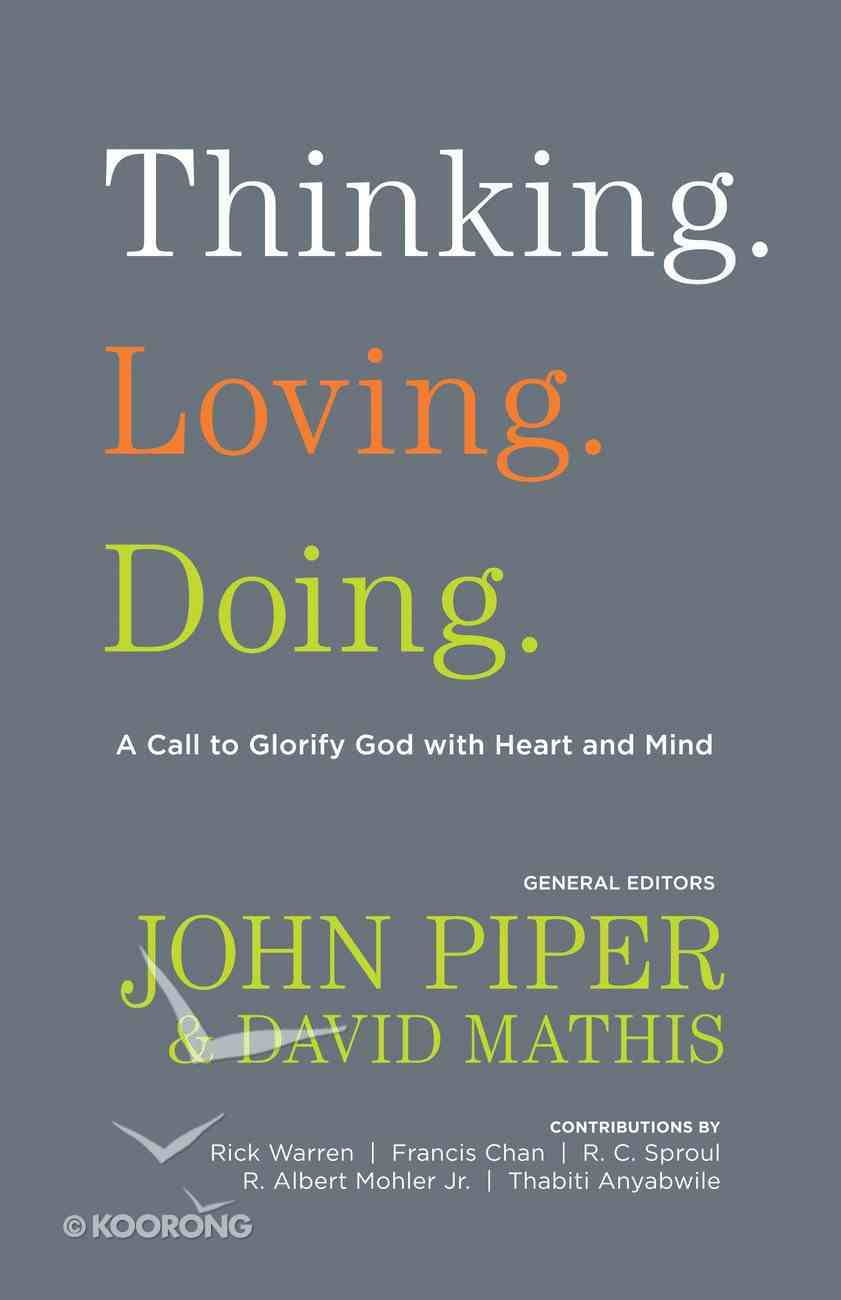Thinking. Loving. Doing. eBook