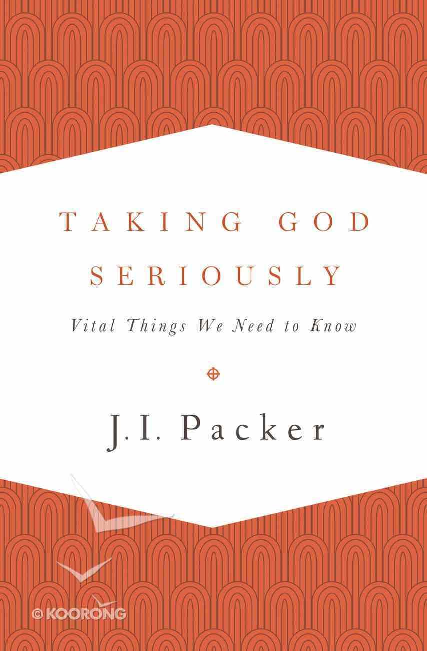 Taking God Seriously eBook