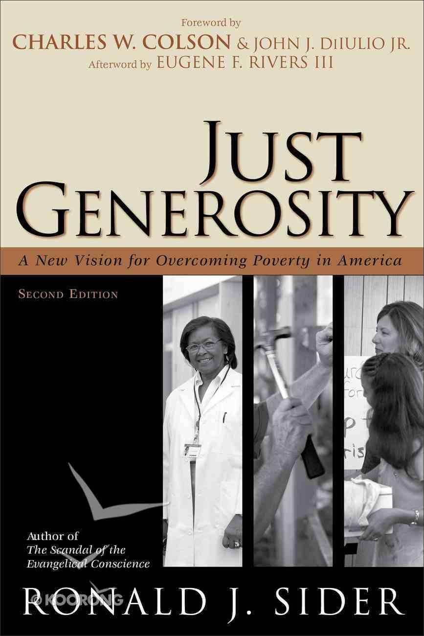 Just Generosity (2nd Edition) eBook