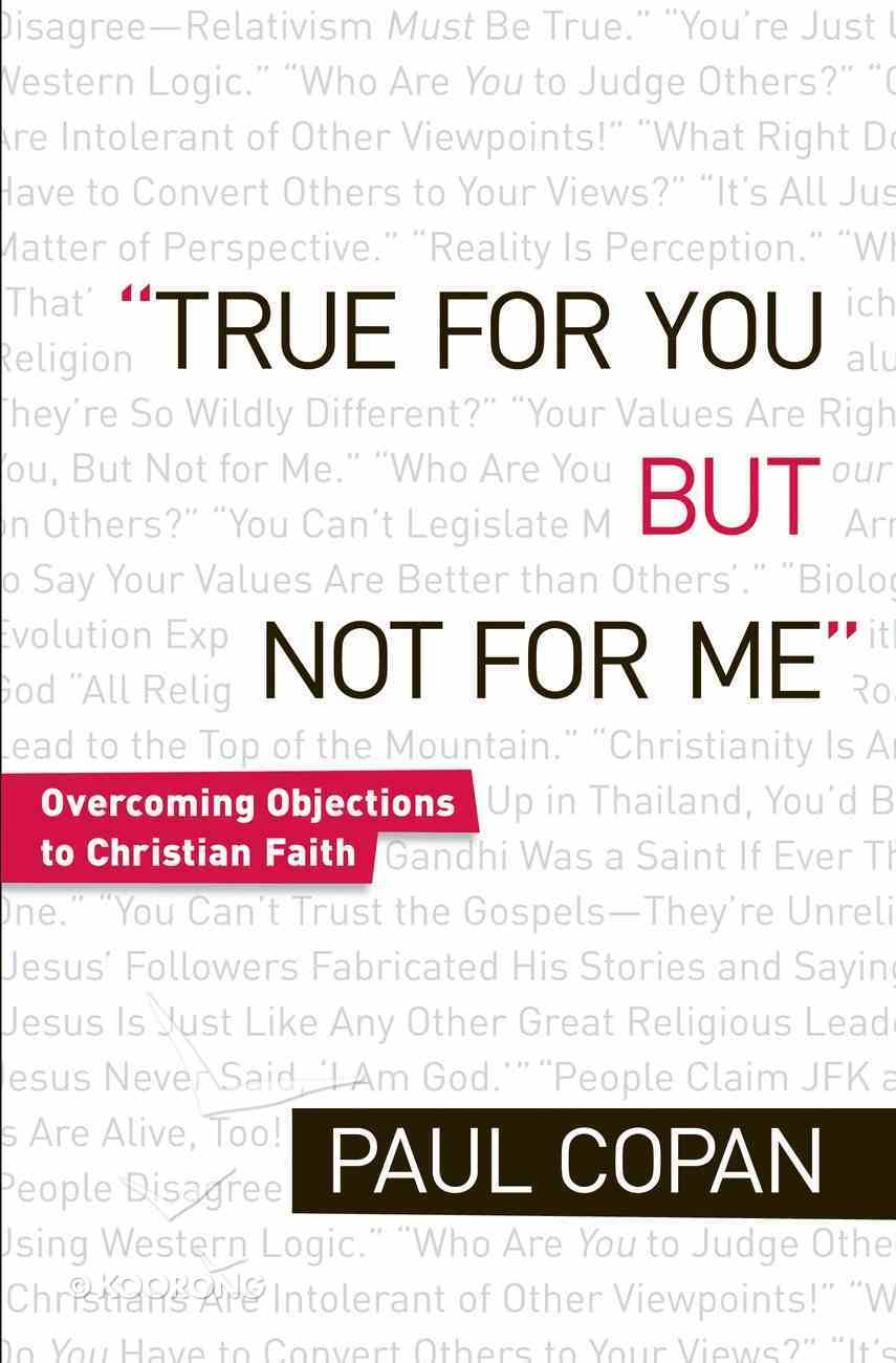 True For You But Not For Me eBook