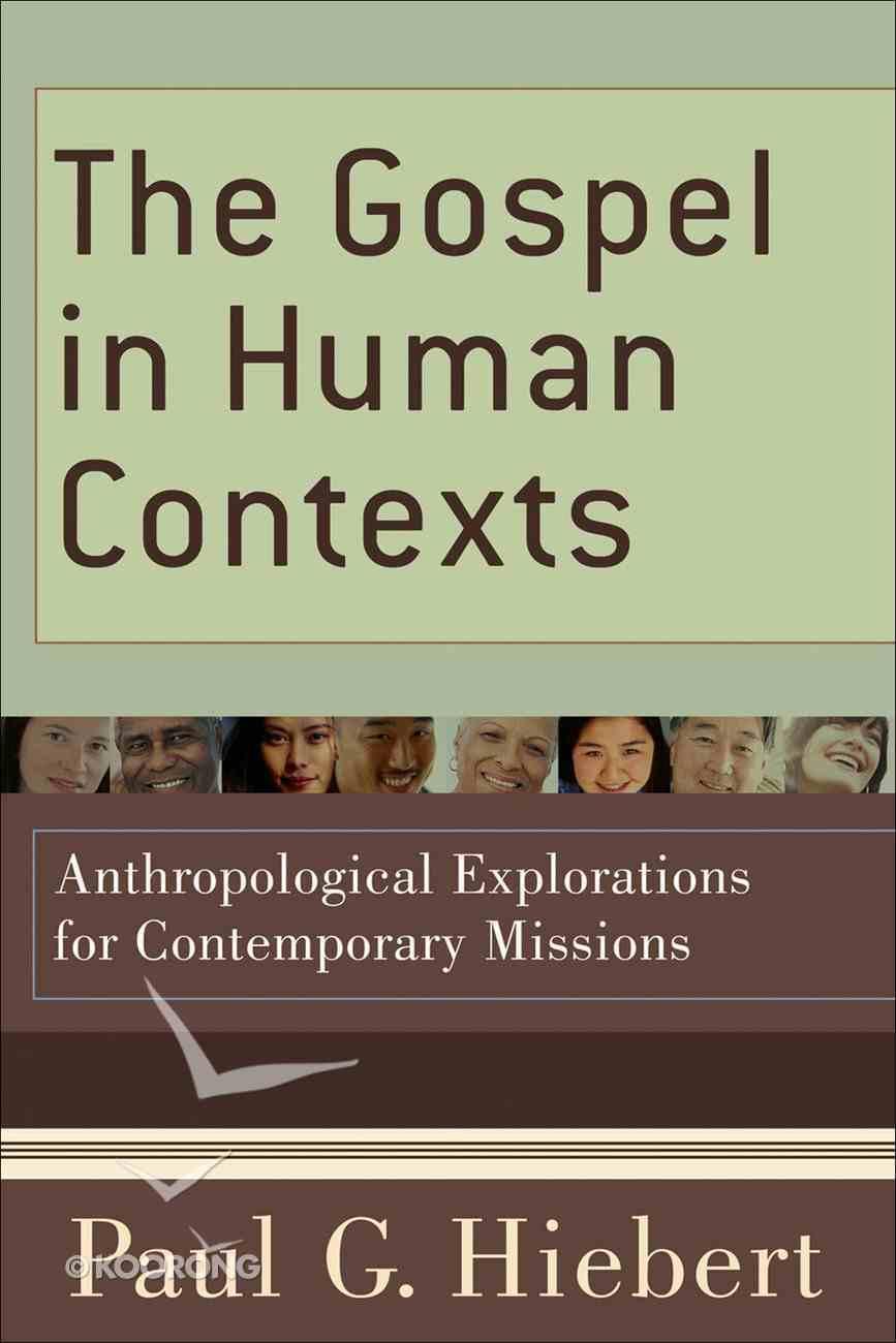 The Gospel in Human Contexts eBook