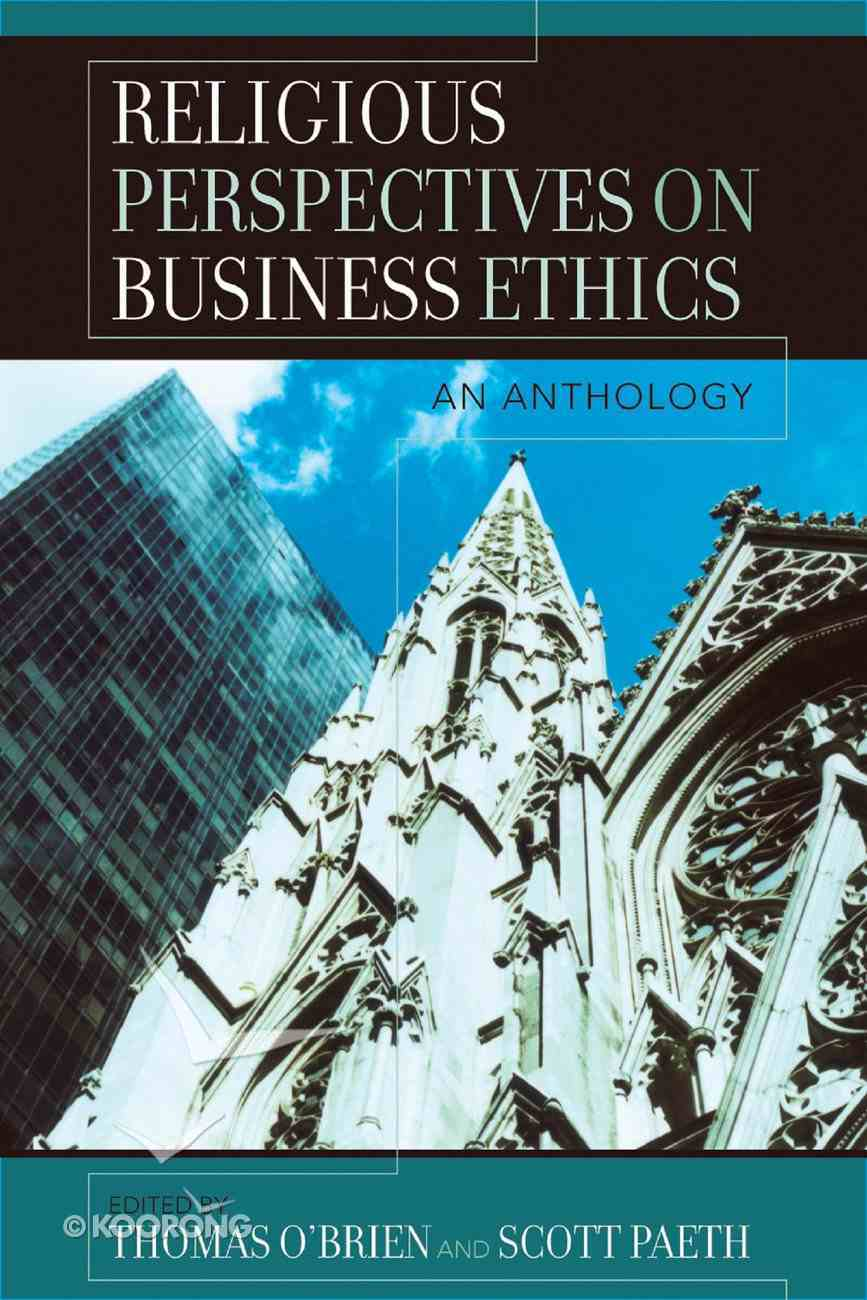 Religious Perspectives on Business Ethics eBook