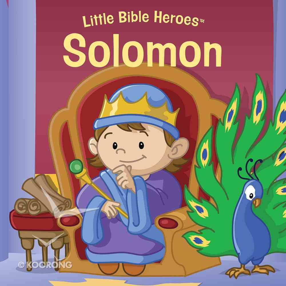 Solomon (Little Bible Heroes Series) eBook