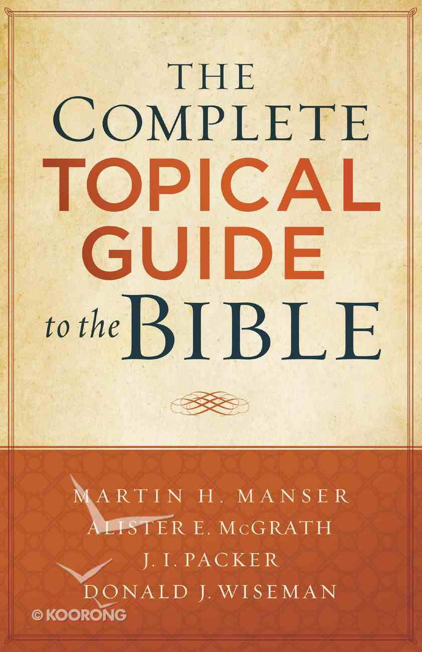 The Complete Topical Guide to the Bible eBook
