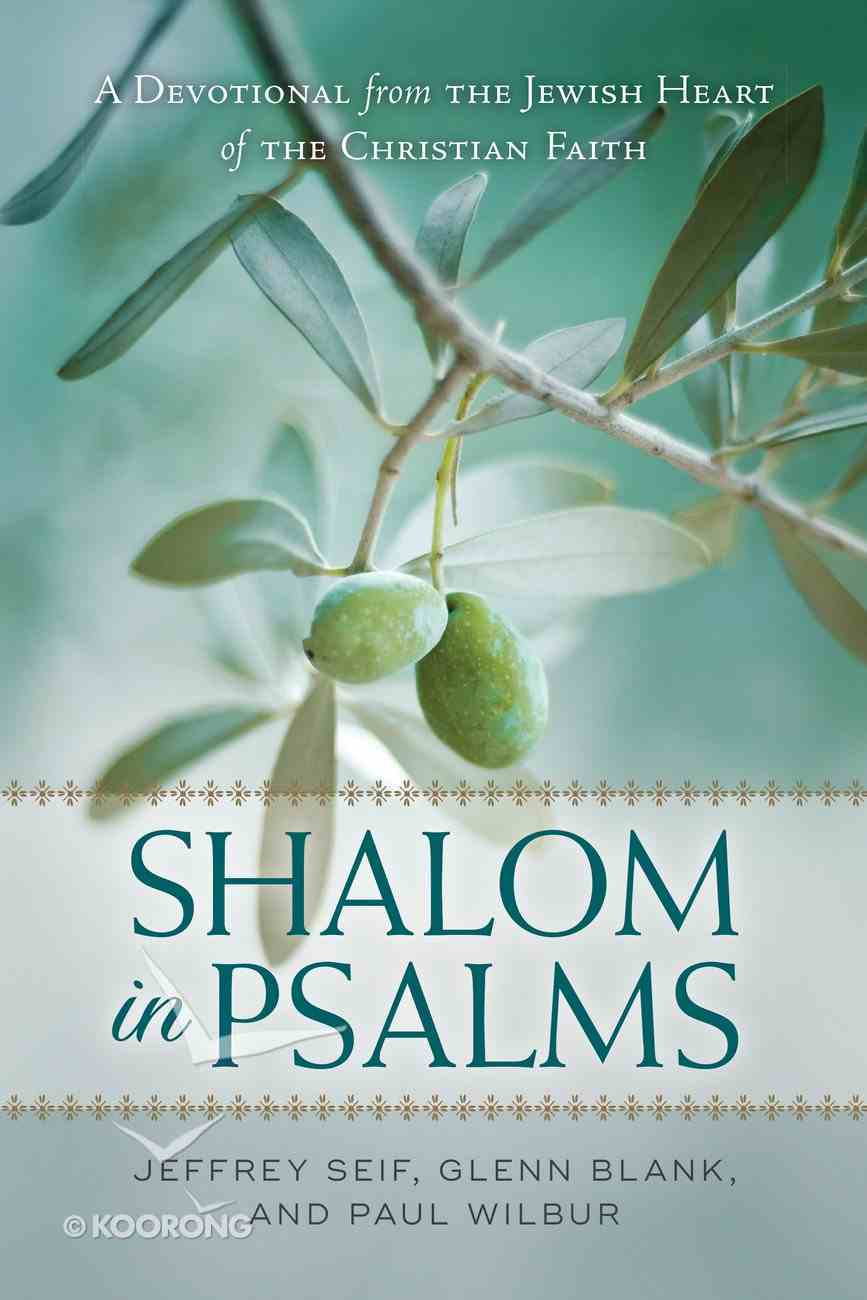 Shalom in Psalms eBook