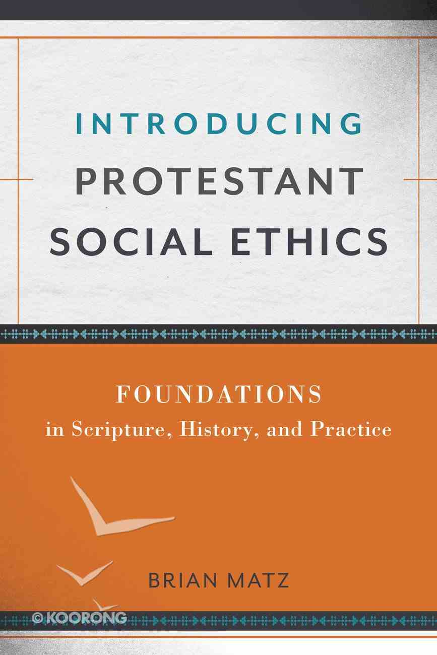 Introducing Protestant Social Ethics eBook