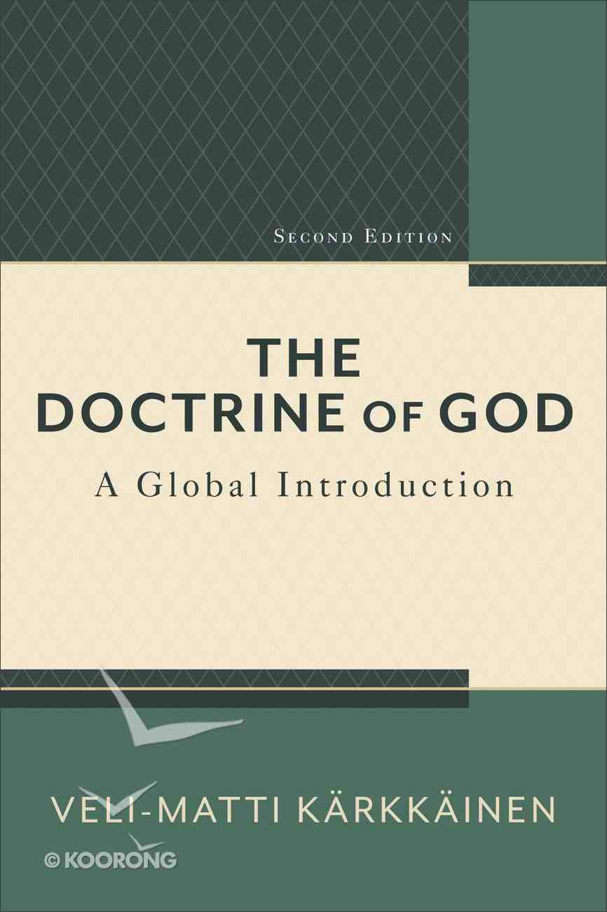 The Doctrine of God eBook