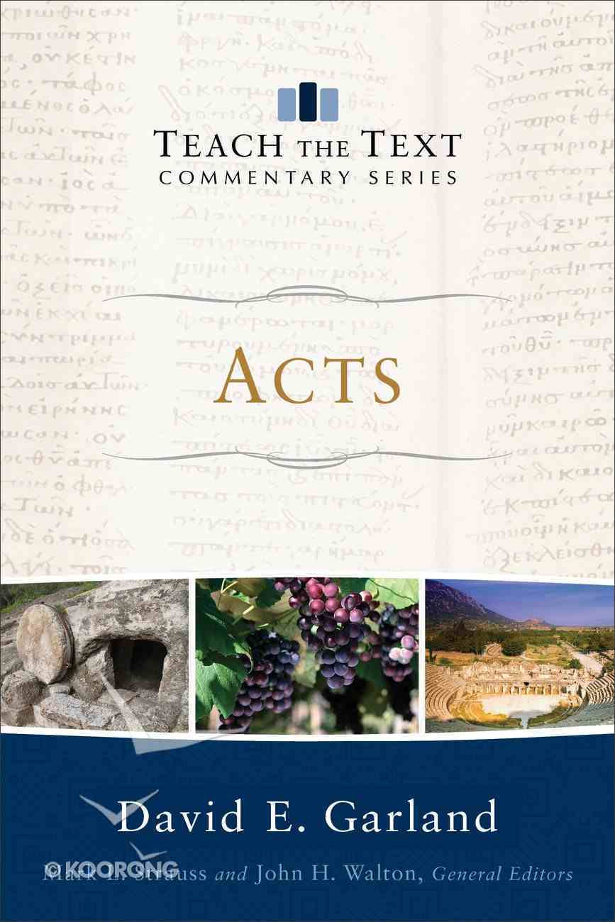 Acts (Teach The Text Commentary Series) eBook