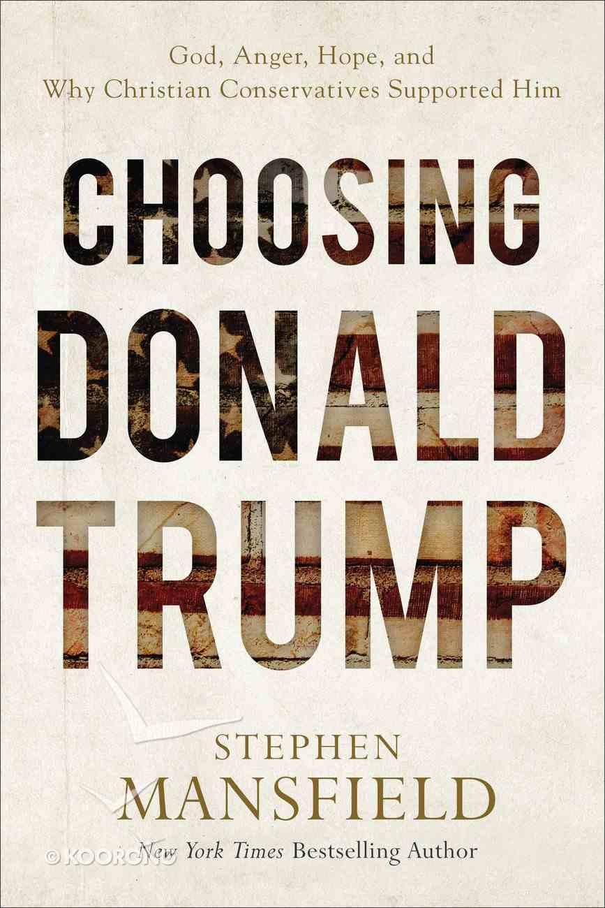 Choosing Donald Trump eBook