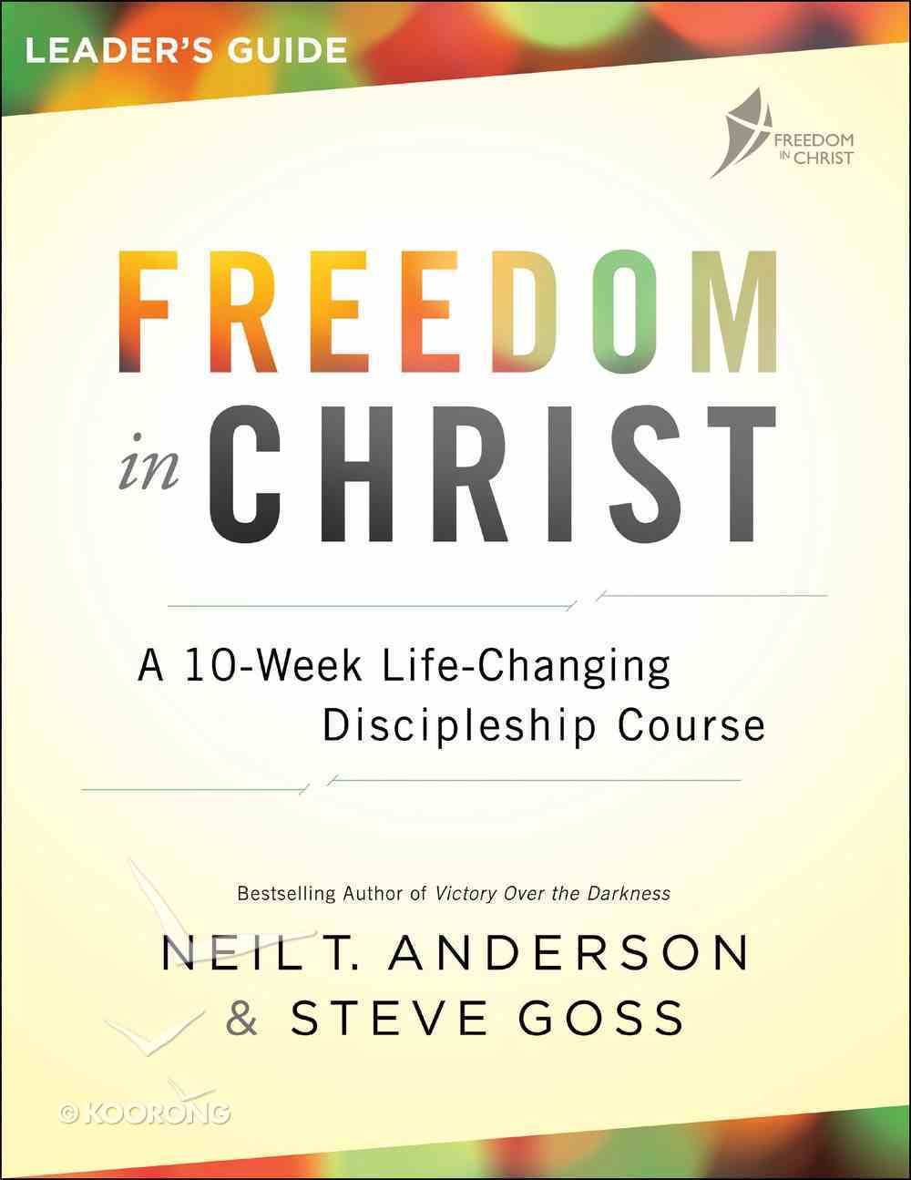Freedom in Christ Leader's Guide eBook