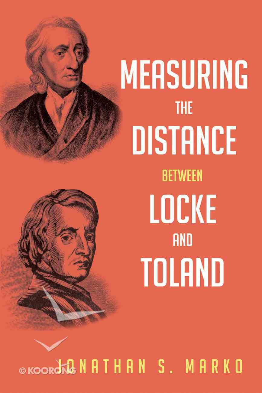 Measuring the Distance Between Locke and Toland eBook