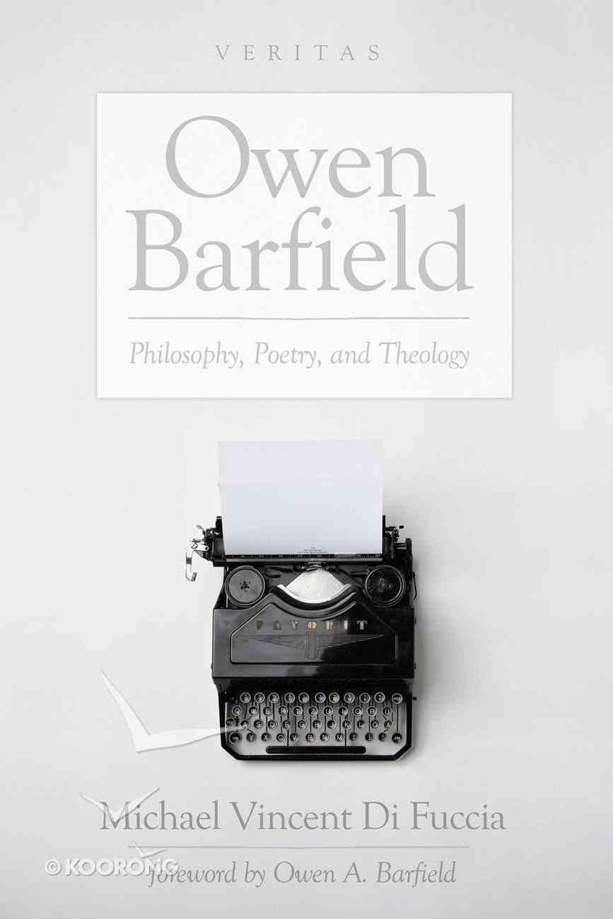 Owen Barfield (#20 in Veritas Series) eBook