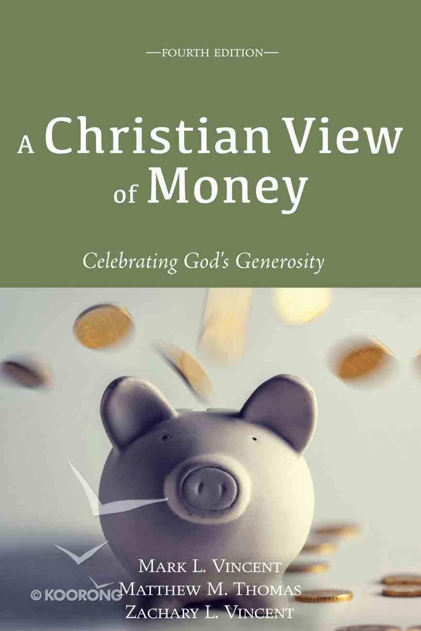 A Christian View of Money eBook