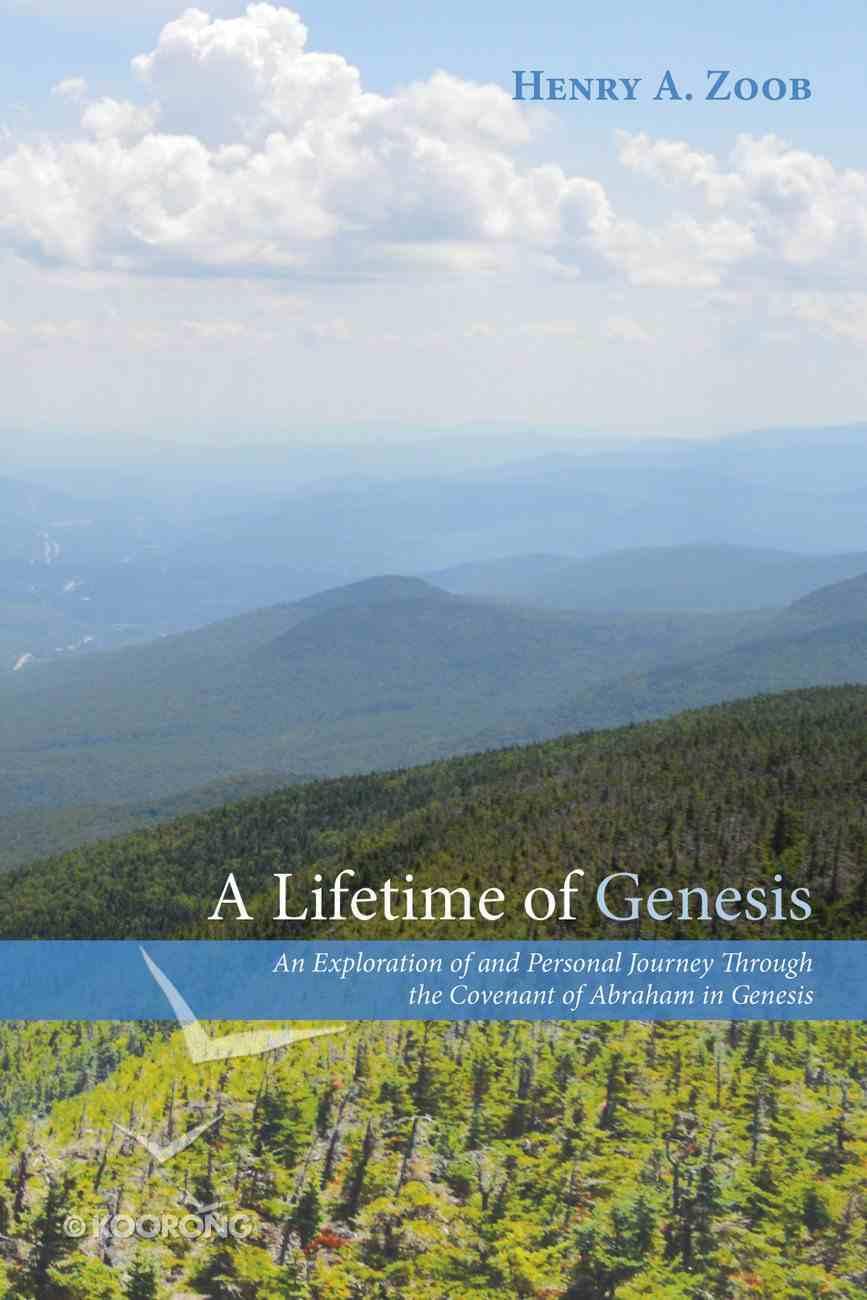 A Lifetime of Genesis eBook