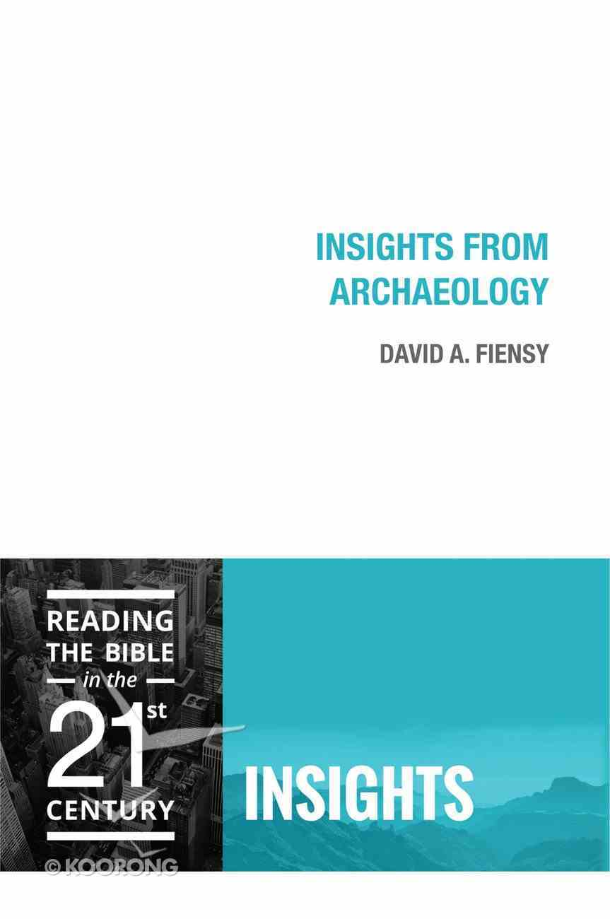 Insights From Archaeology (Insights Series) eBook