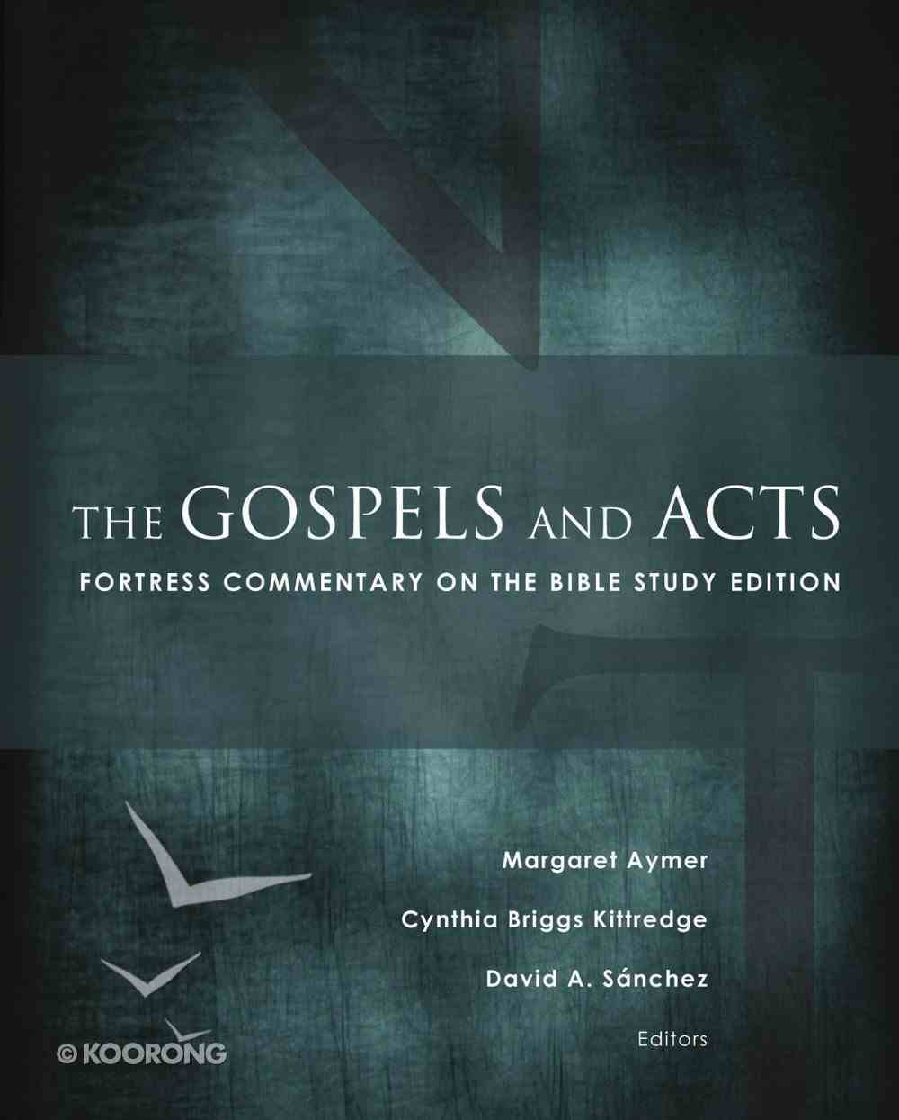 The Gospels and Acts (Fortress Commentary On The Bible Series) eBook