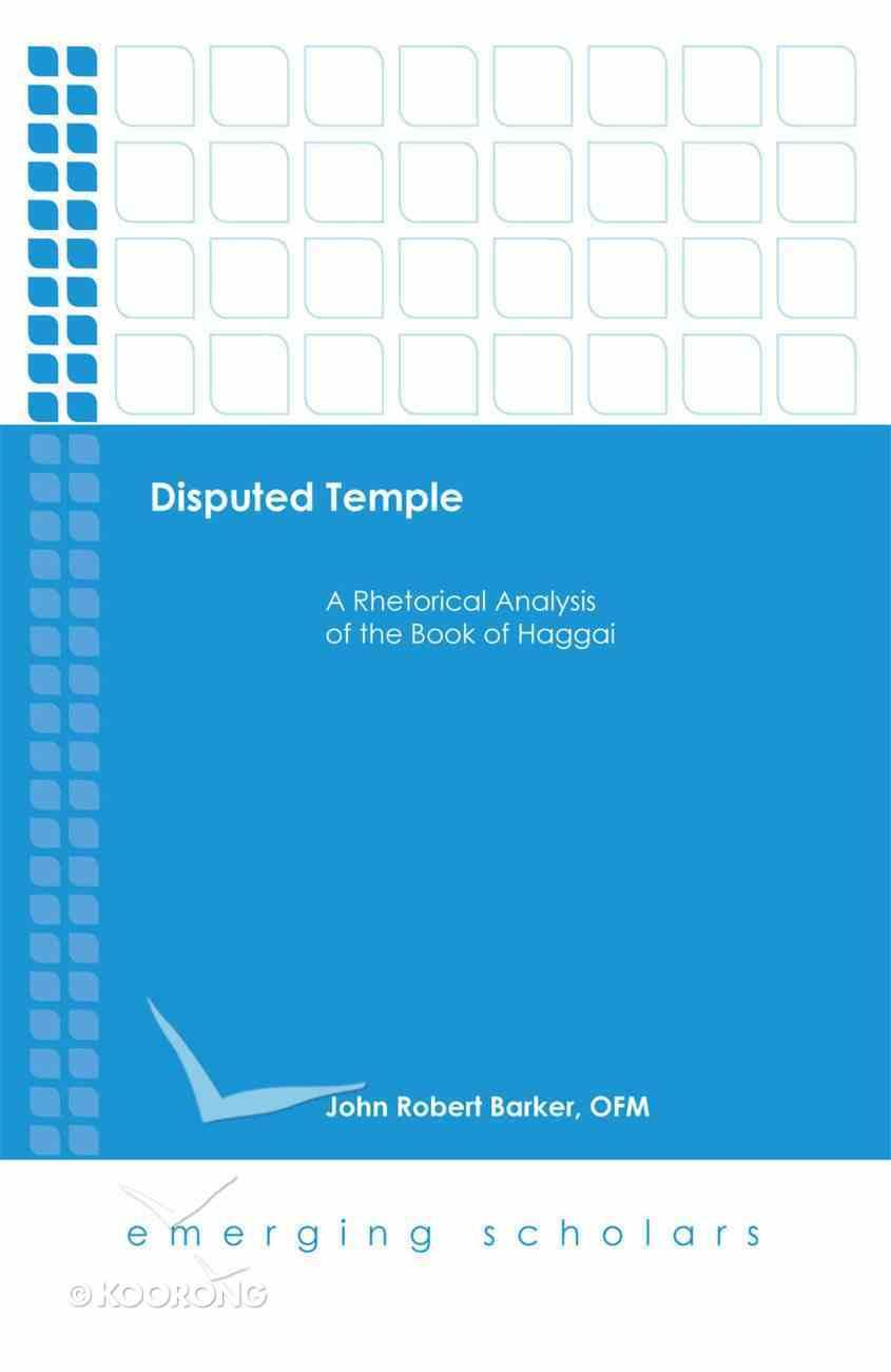 Disputed Temple (Emerging Scholars Series) eBook