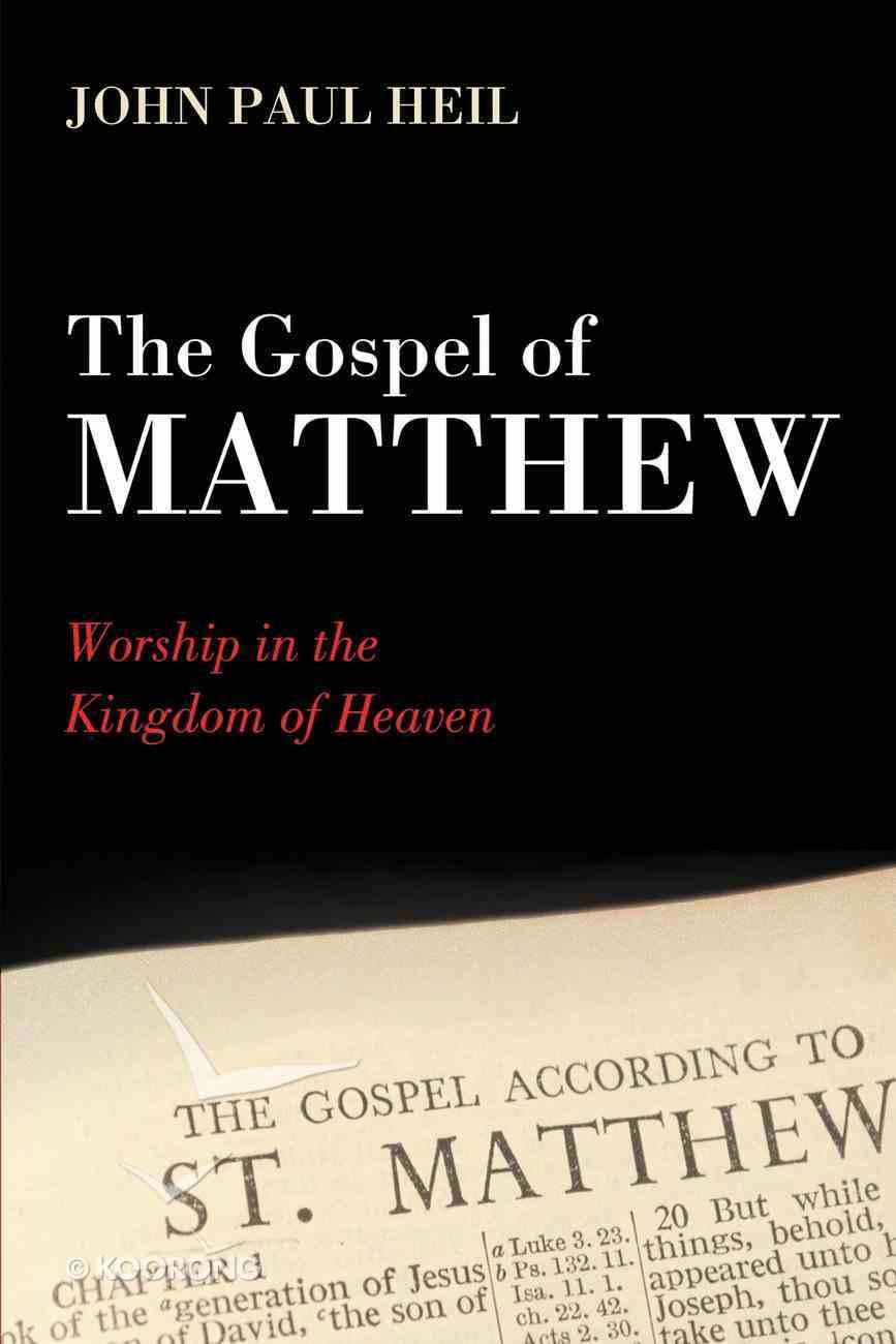 The Gospel of Matthew eBook