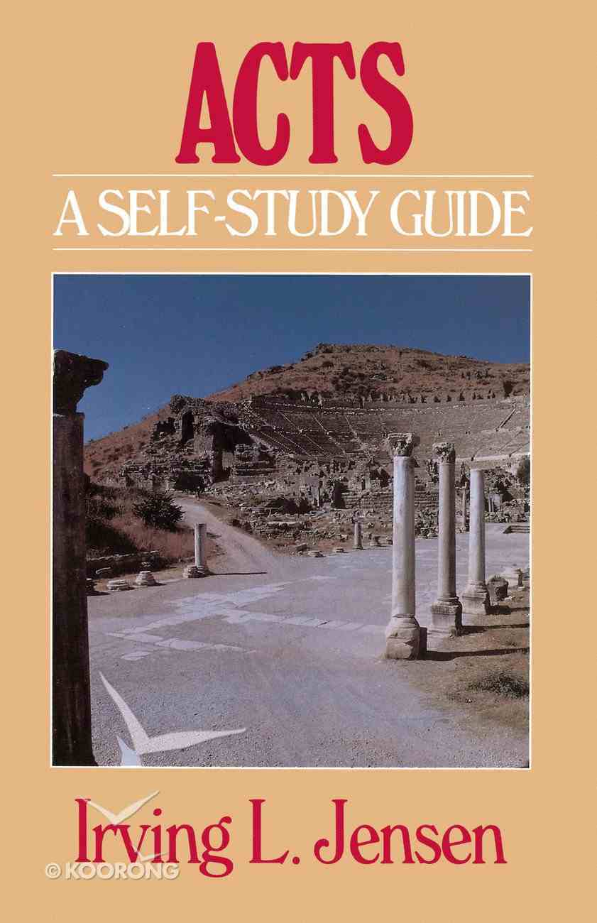 Acts- Jensen Bible Self Study Guide eBook