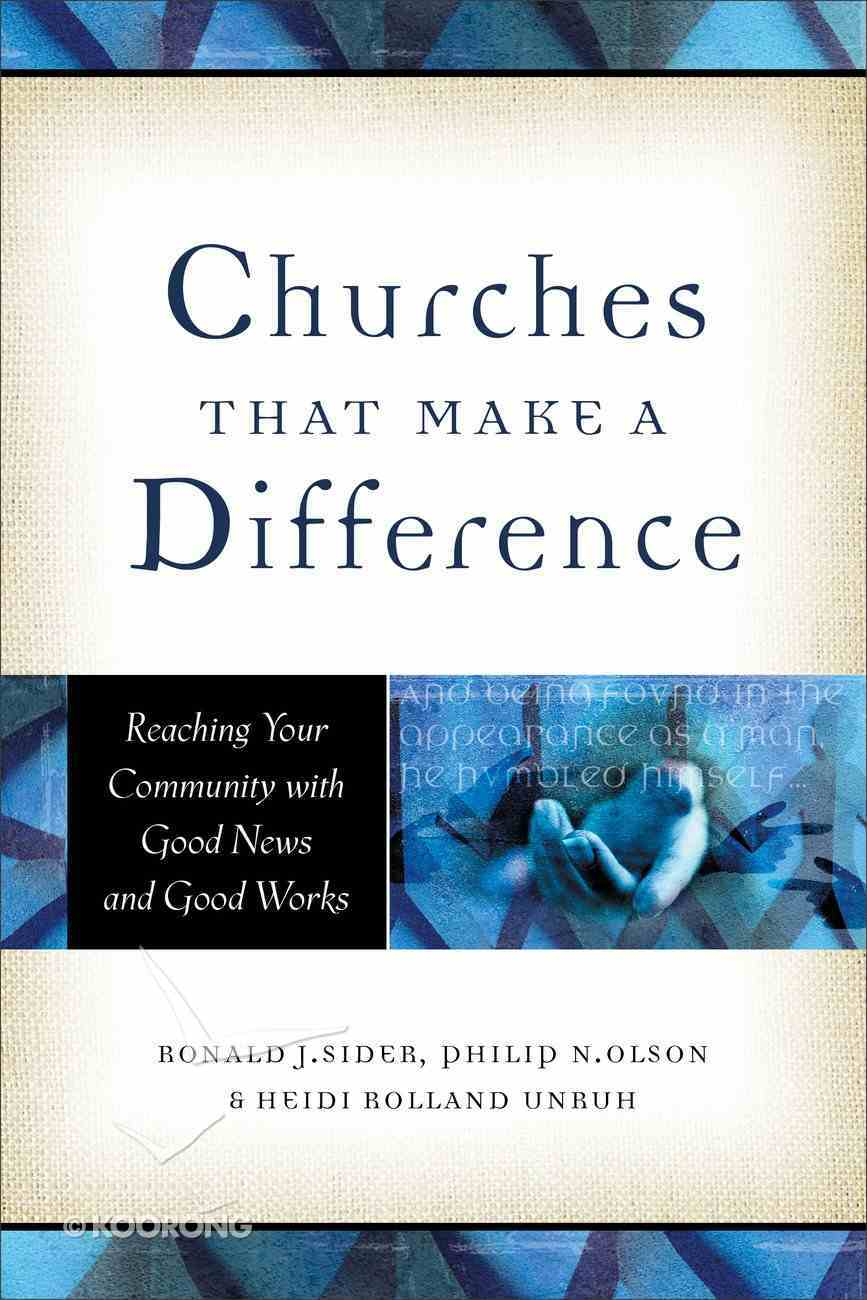 Churches That Make a Difference eBook