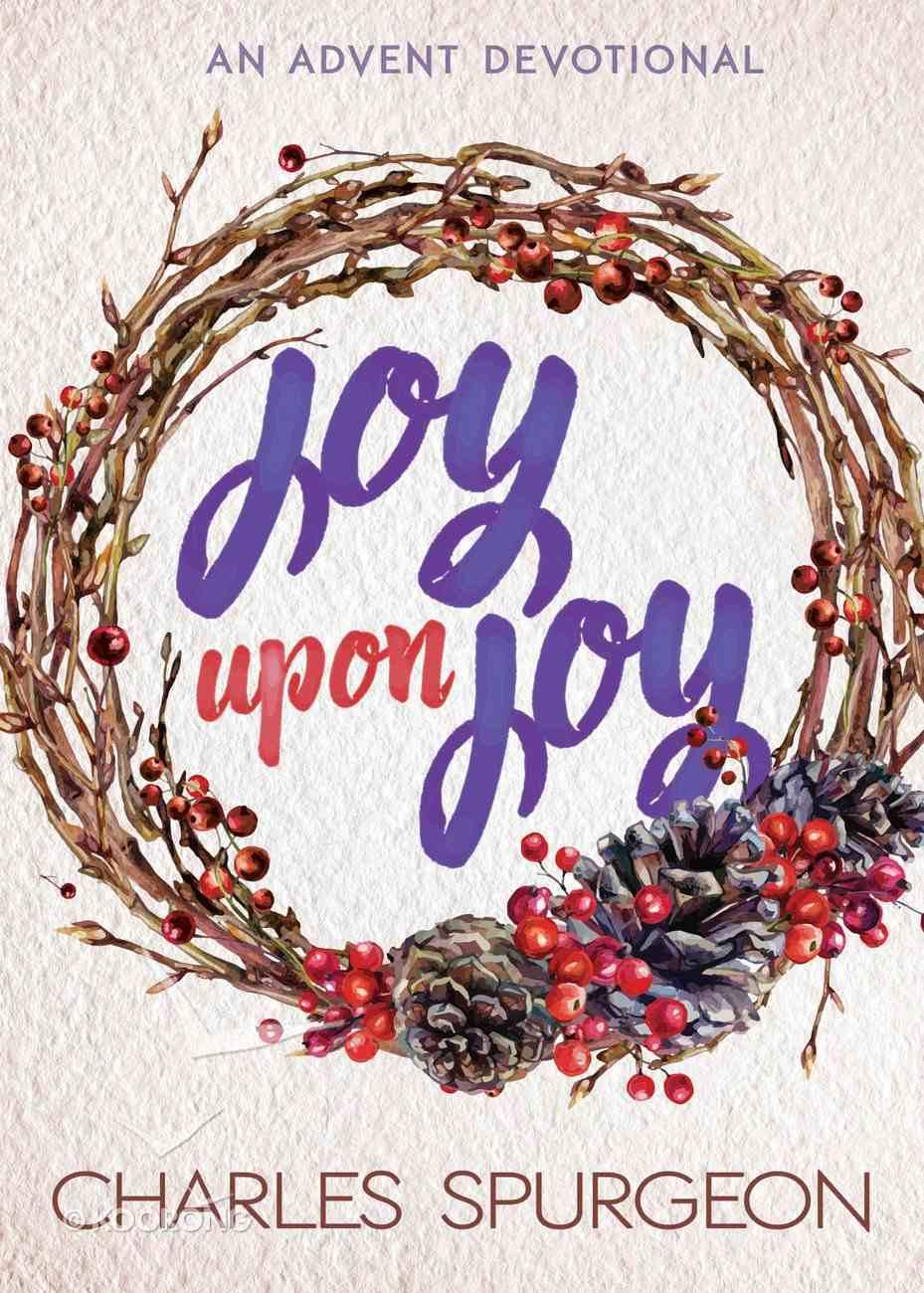 Joy Upon Joy eBook