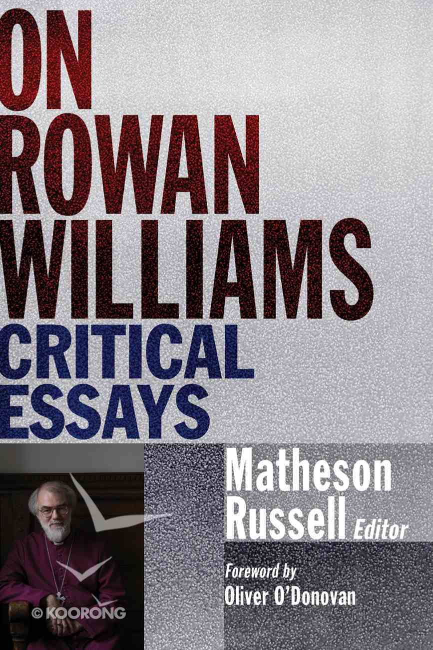 On Rowan Williams eBook