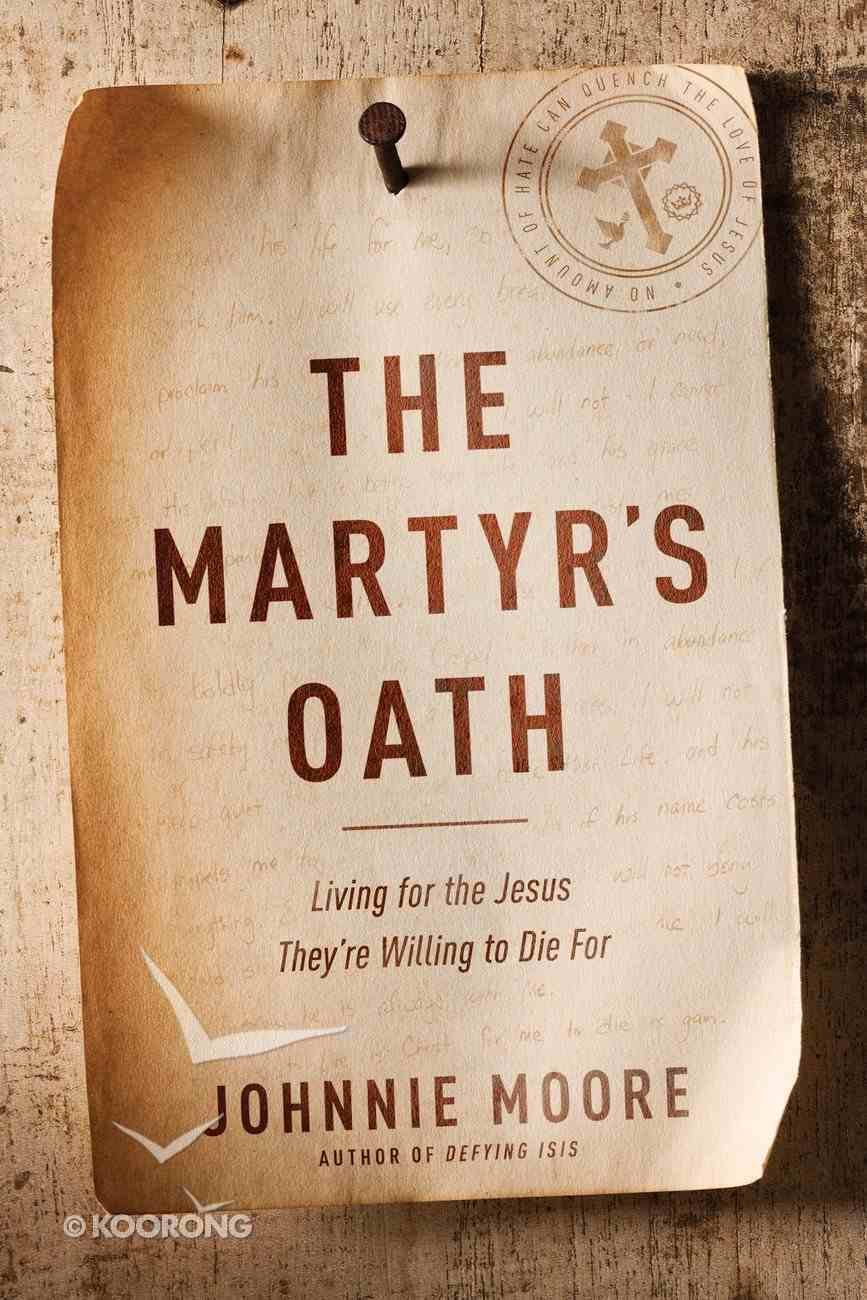 The Martyr's Oath eAudio Book