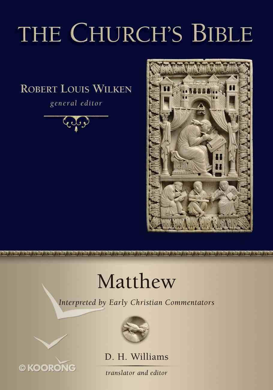 Matthew (Church's Bible, The Series) Hardback