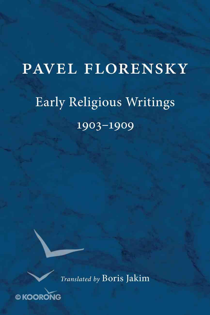 Early Religious Writings, 1903-1909 Paperback