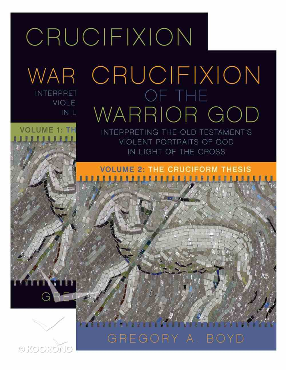 The Crucifixion of the Warrior God (Volumes 1 & 2) Paperback