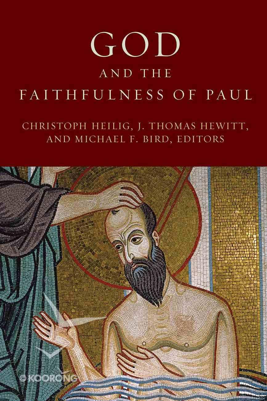 God and the Faithfulness of Paul Paperback