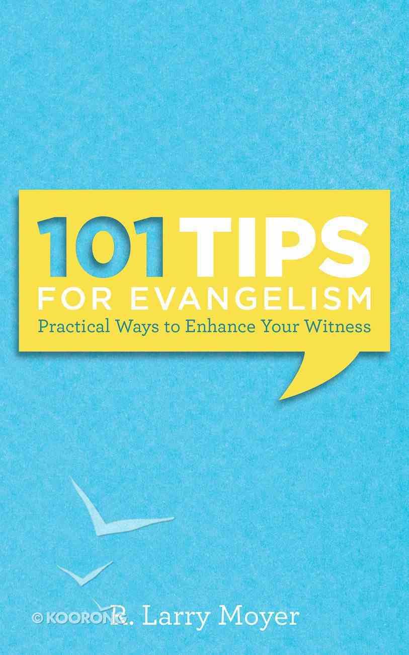 101 Tips For Evangelism Paperback