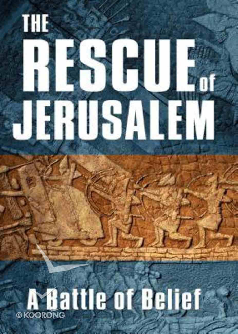 The Rescue of Jerusalem: A Battle of Belief DVD