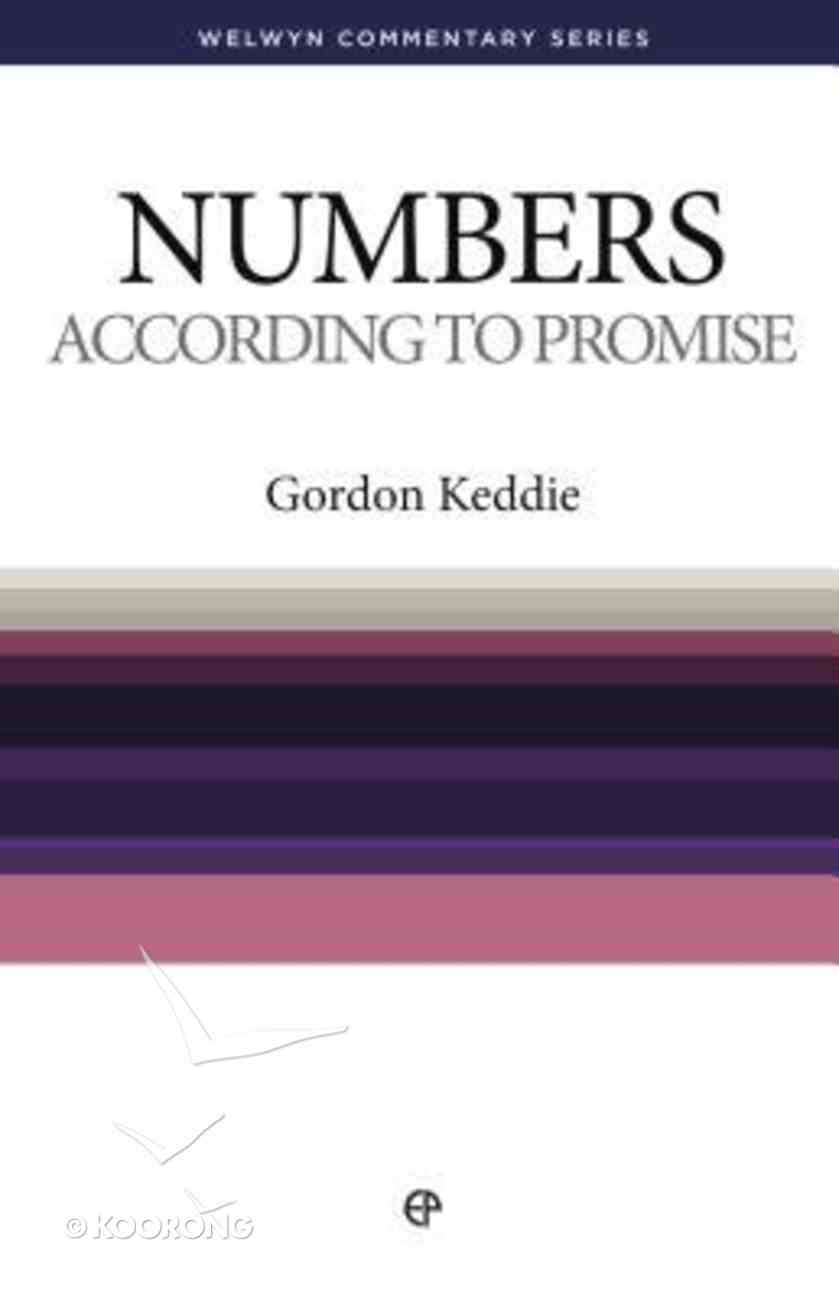 According to Promise (Numbers) (Welwyn Commentary Series) Paperback